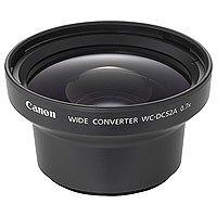 Canon WC-DC52A Weitwinkel Objektiv (für Canon Powershot S1 IS) schwarz