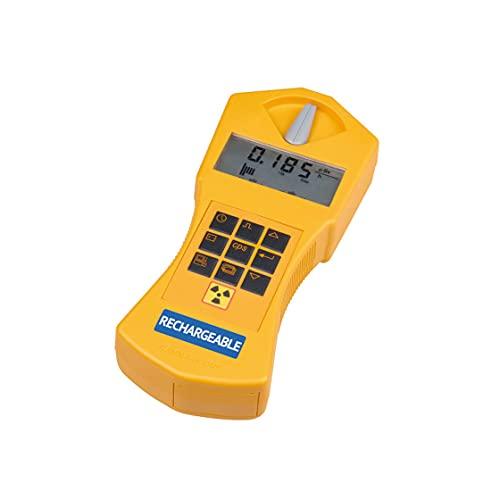GAMMA-SCOUT Rechargeable | Geigerzähler für Radioaktivität mit wiederaufladbarem Akku, Verwendung als Personendosimeter, inkl. USB-Schnittstelle & Auswertungssoftware
