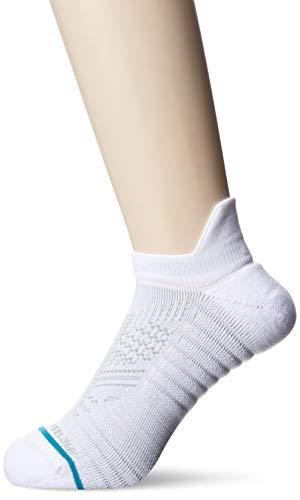 Stance Men's TRAIN TAB Casual Sock, White, Medium