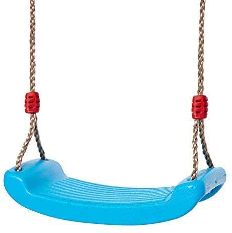 IFOYO Kinderschaukel, Außenschaukel, starke Baumschaukel für Spielplatz, Hinterhof, hält 100 kg für 3–10 Jahre Kinder, blau