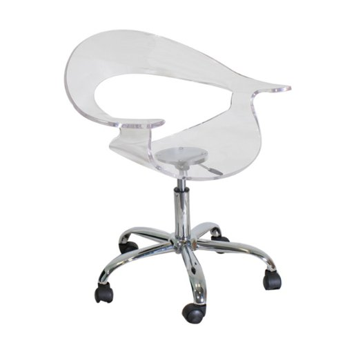 LumiSource Rumor Chair, Clear