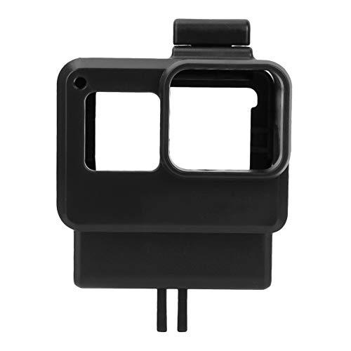 Asixxsix Camera Vlog Cage, Resistente e conveniente Custodia per Fotocamera Portatile Nera in ABS, per GoPro5 / 6/7