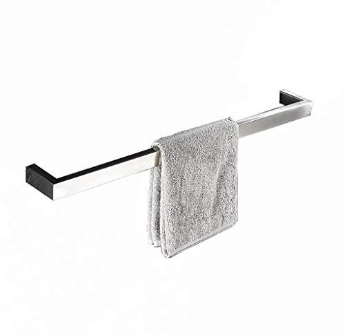 LIYONG Handtuchschienen Handgemachte Badezimmer Einzelne Handtuch Bar Küchentuch Rack gebürstet Handtuchhalter (60 cm) Handtuchständer (Größe: 5 HLSJ (Size : 50cm)