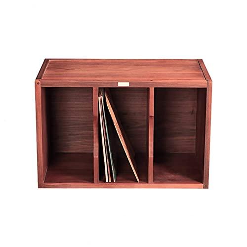 N/Z Home Equipment Wooden LP Storage Cabinet Game Disc Disc CD DVD...