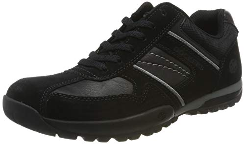 Dockers by Gerli Herren 36HT020 Sneaker, Schwarz (Schwarz/Grau 120), 40 EU