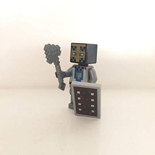 maisterkaio-de Lego Figur Ritter -- Minecraft -- (aus Set 21159, kompatibel mit Anderen Lego)