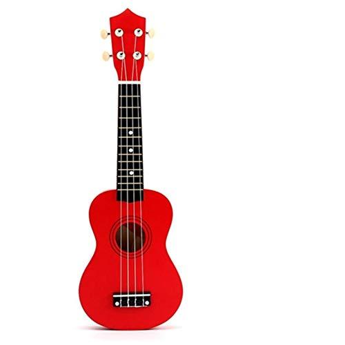 21 Zoll Sopranistik Ukulele Nylon 4 Saiten Ukulele Tasche Akustische Mini Hawaiianische Gitarre für Anfänger ( Color : O )