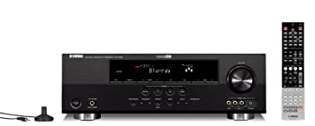 Yamaha RX-V465BL 525 Watt 5-Channel Home Theater Receiver  OLD VERSION   Discontinued by Manufacturer