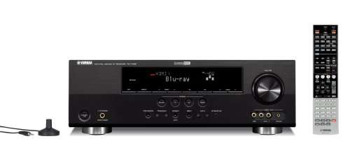 Yamaha RX-V465BL 525 Watt 5-Channel Home Theater Receiver (OLD VERSION) (Discontinued by Manufacturer)