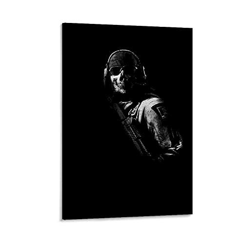 Lienzo para pared de oficina, decoración del hogar, diseño de Call of Duty Game Poster de oficina, sala de estar, regalo 30 x 45 cm
