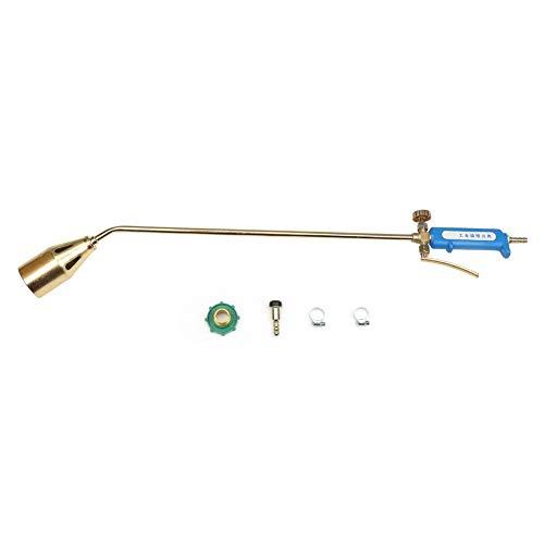 50mm Flammpistole Düse Industrielle Löten Schweißen Heizpistole Verflüssigtes Gas Lötlampe Gasbrenner(Type 50 double switch)
