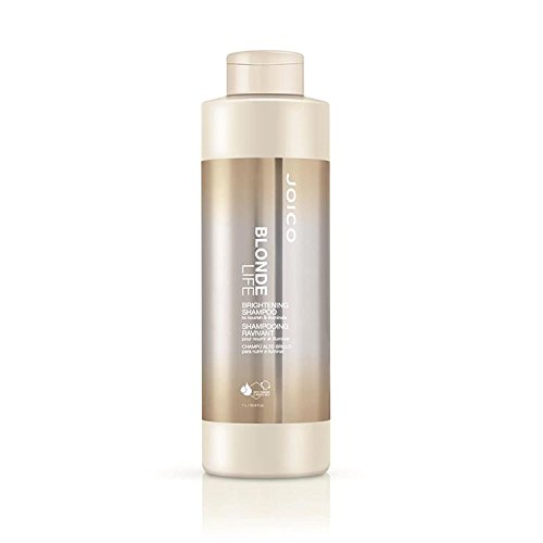 Blonde Life by Joico Joico vie Blonde Shampooing Éclat (avec Sleek Mirror Compact) 33,8 oz / 1000 ml - grande taille litres