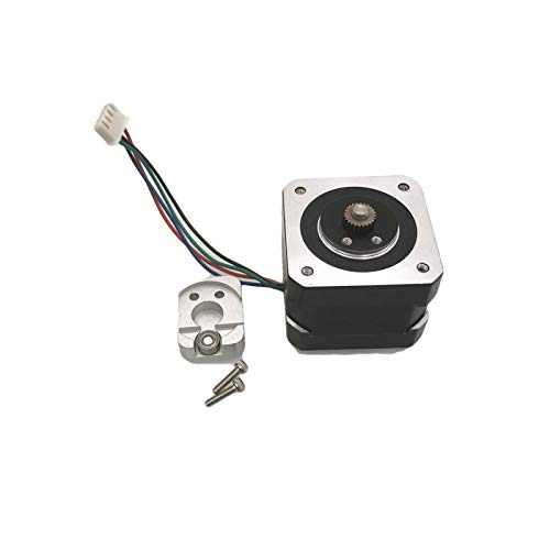 VIKTK 1set UP Plus/mini/Afinia Replacement Extruder Stepper Motor With Metal Driver Gear Cover Fit For UPtaier/Afinia 3D Printer Parts