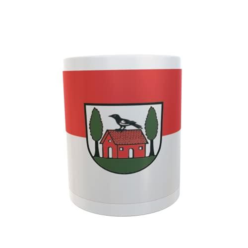 U24 Tasse Kaffeebecher Mug Cup Flagge Aglasterhausen