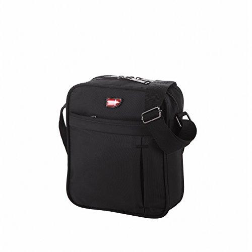 Von Cronshagen Tablet Tasche 9,7 Zoll universal, Umhängetasche wasserabweisend, robuste & gepolsterte Schultertasche, iPad, Überschlagtasche für Damen & Herren