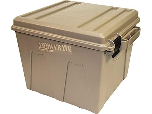 MTM Case-Gard ACR12 Ammo Crate Utility Box - Dark Earth