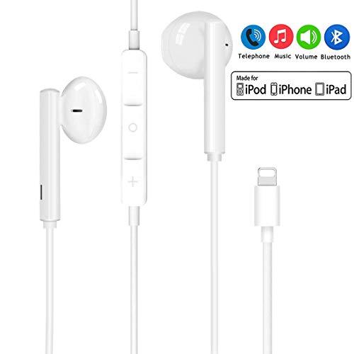 professionnel comparateur Éclairage du casque pour écouteurs intra-auriculaires pop-up iPhone 7 avec commande de microphone… choix
