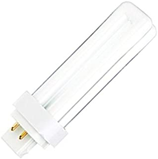 Satco 08333 - CFD18W/4P/827 S8333 Double Tube 4 Pin Base Compact Fluorescent Light Bulb