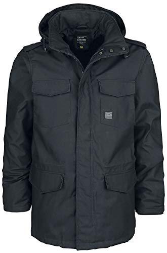 Vintage Industries Darren Parka Männer Winterjacke schwarz XXL 65% Polyester, 35% Baumwolle Basics