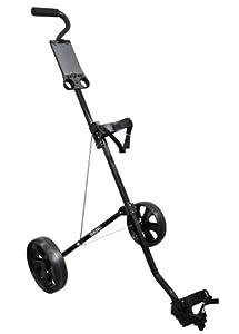 LEGEND Golfcaddy mit 2 Rädern, Basic Black Steel 2-Wheels