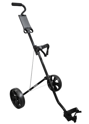 Legend Golfcaddy mit 2 Rädern, Basic Black Steel 2-Wheels