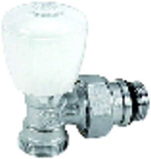 Giacomini - Grifería gas de radiador - Válvula escuadra R431TG 3/8