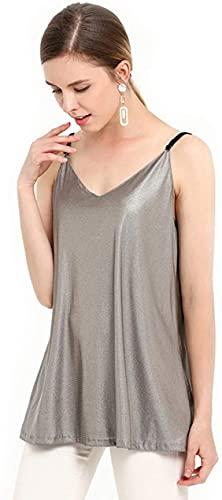 JIANMUDAN Vestido Anti-radiación de Mujeres Embarazadas, Cubierta Protectora de EMF, Mujeres Embarazadas Doble 100% de Fibra de Plata Suave y cómoda Piel AN407 (Size : Large)