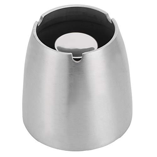 Haowecib Ceniceros para el hogar, cenicero de pie para Interior para Exterior para el hogar(Large Cone Ashtray)