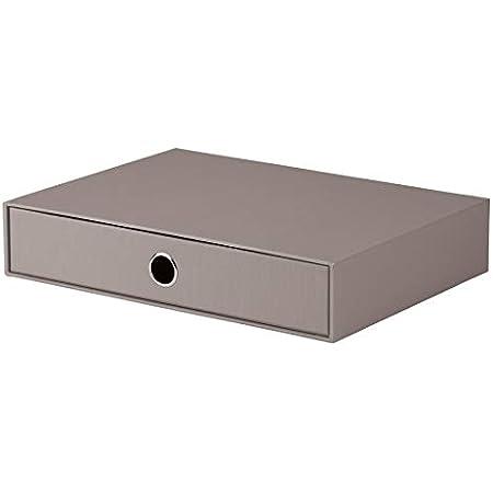 Rössler 1524452490 Boîte tiroir S.O.H.O. A4 (Gris) (Import Allemagne)