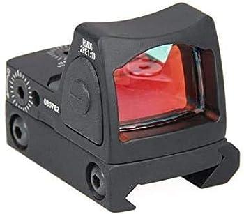 Tactical RMR Red Dot Sight  20mm Mount Pistol Handgun Shunting Red Dot 2 MOA Adjustable Reflex SightPistol Scope Without Battery