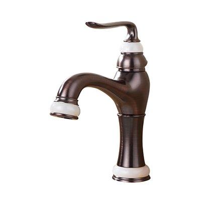 Retro Deluxe Fauceting mode hoge kwaliteit rose goud afgewerkt kar gesneden koud en warm enkele hendel badkamer wastafel kraan wastafel kraan, messing, stijl 1