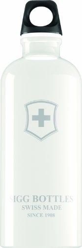 Sigg Trinkflasche Swiss Emblem, Weiß, 0.6 Liter, 8394.2000000000007