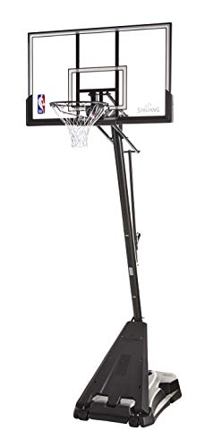 Spalding NBA Hercules Pro Glide Advanced Lift Portable Basketball System - 52