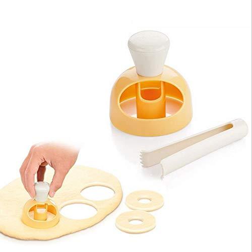 N\A Jiexue Cuisson Pâtisserie Outils Donut Donut Moule DIY Fried Donut Maker Cutter pour Cuisine Boulangerie