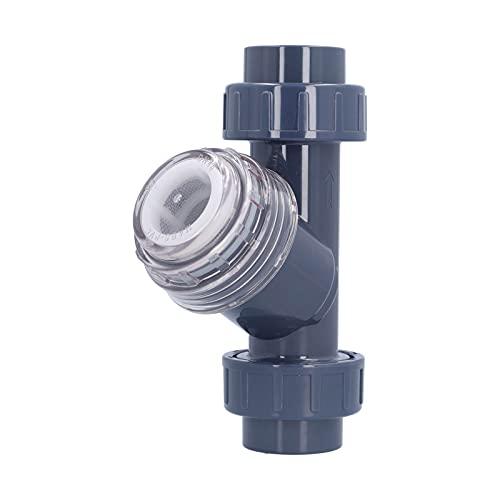 ROMACK Traitement Chimique de l'eau, Filtre de Type Y 40 mm Installation Facile Large Gamme d'applications pour régulateur de Pression d'eau