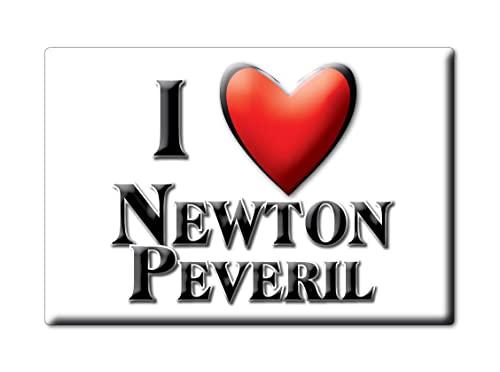 Enjoymagnets Newton PEVERIL (Eng) Souvenir IMANES DE Nevera Inglaterra England IMAN Fridge Magnet Corazon I Love