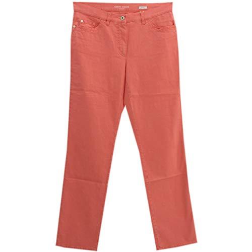 Gerry Weber, Romy, Damen Damen Jeans Hose Popeline Stretch Rosarot D 42 Inch 32 L 32 [22377]