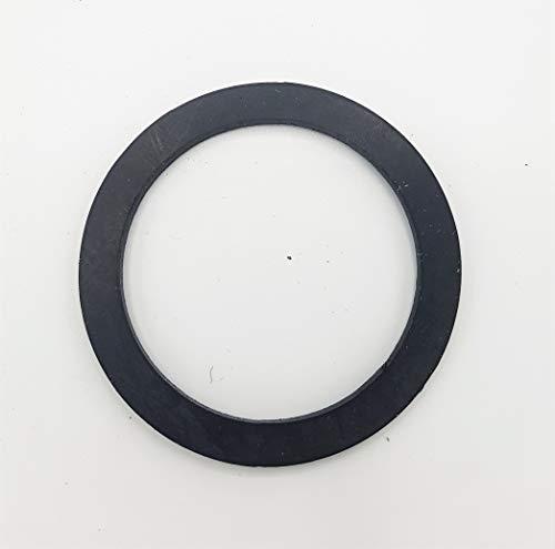 EPDM Flachdichtung Gummi-Dichtung - TRINKWASSERZULASSUNG - Größe (1 1/2'' bis 3/8'') - Menge (1 bis 100 Stück) - AUSWAHL: 1 Zoll (44 x 32 x 2.0mm) - für Verschraubung - Menge: 2 Stück