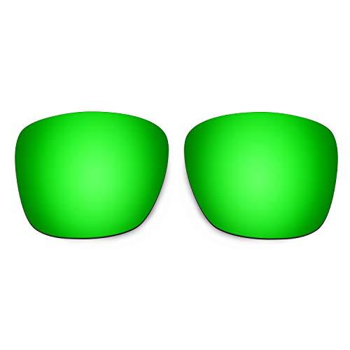 HKUCO Reforzarse Lentes de repuesto para Oakley TwoFace XL OO9350 Gafas de sol Verde Polarizado