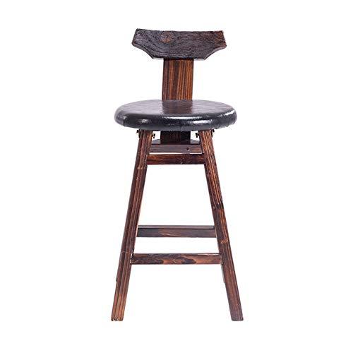 JPX Sgabelli da Bar Sedie Cucina Sgabello da Bar in Legno massello Sedia da Bar retrò Sgabello Alto Moderno e Minimalista (Size : #3)