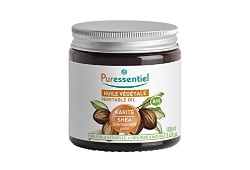 Puressentiel - Huile de Karité Bio - Pressée à Froid - 100% Brute, Pure et Naturelle -...