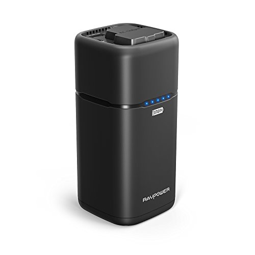 Portable Charger 20100 RAVPower 20100mAh 65W(Max.) with 2-Prong AC Plug External Battery Pack Travel Charger MacBook, Surface Pro, Dell XPS 13, iPhone Xs, Galaxy S9, Note 8 - Updated