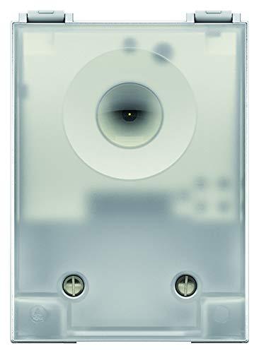 Theben 1260901 - LUNA 126 star E - Interruptor crepuscular con sensor de luz integrado y retardo de encendido/apagado fijo para exteriores - sensor crepuscular - sensor de brillo