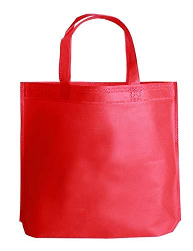 【5色セット】不織布・防水加工 エコバッグ ランチバッグ Sサイズ(横33cm*高さ26.5cm)