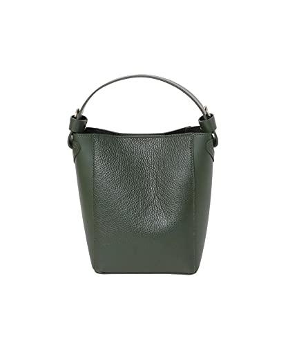 [サニーレーベル] 鞄 ショルダーバッグ MARCO BIANCHINI 2WAYバケツ型バッグ レディース 21316-SL16 GREEN one
