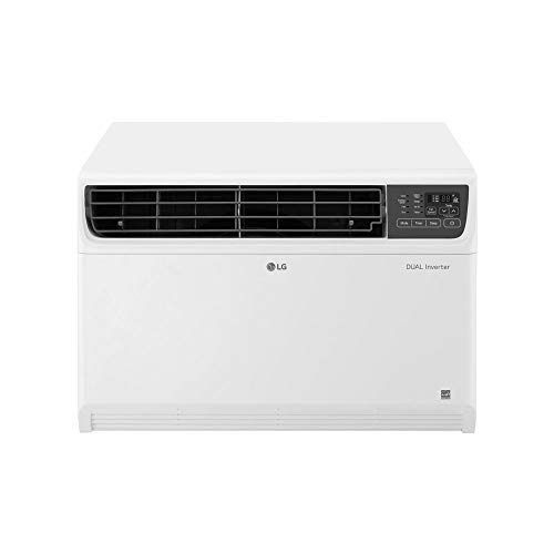 LG LW1517IVSM 14000 BTU DUAL Inverter Smart Wifi Enabled Energy Star Window Air Conditioner Unit with Remote Control and Fan (Renewed)