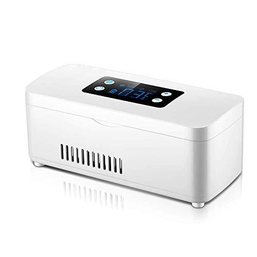 LIDY Medikamentenkühler, Mini-Medikamentenkühlschrank Und Insulin Kühler Für Auto, Reisen, Zuhause, Tragbare Autokühlbox/Kleine Reisebox Für Medikamente