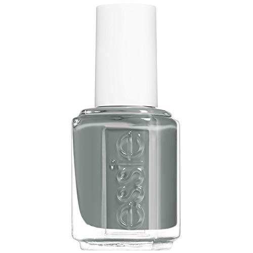 Essie Nagellack für farbintensive Fingernägel, Nr. 608 serene slate, Grau, 13,5 ml