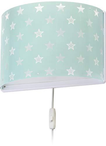 LED Kinderlampe Raumschiffe & Weltraum Stern Sterne Stars 81218H Dimmbar warmweiß 1000lm Mädchen Kinderzimmerlampe Deckenlampe
