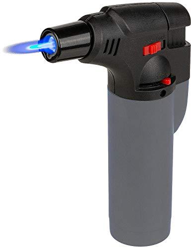 CN Flambierbrenner Flambierer Gasbrenner Kochzubehör Küchenprofi Lötlampe (Grau)